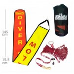 Scuba Diving Equipment Thailand - Surface Marker w/ Webbing Deployment System